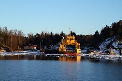 Ljustery Ferry Port (AdurianJ) Tags: pictures camera canon europa europe fotograf sweden digitalcamera nordic dslr scandinavia europeanunion suecia lenses   northerneurope  nrdico escandinavia     adurianj