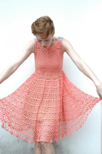 Lolita Crochet Dress 6