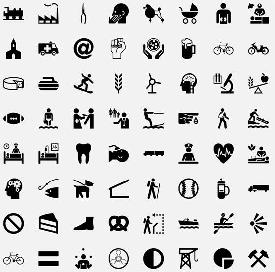 iconos libres de derechos