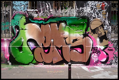 By HEMS (QCK-2HS) (Thias (-)) Tags: terrain streetart paris wall painting graffiti mural sm spray urbanart painter graff aerosol bombing spraycanart hems pgc thias 2hs qck photograff frenchgraff photograffcollectif