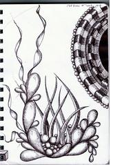 nat exec 1-1 (Jo in NZ) Tags: pen ink drawing line zentangle nzjo zendoodle