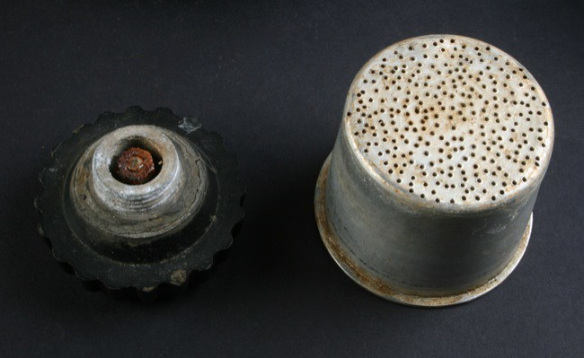 Indian Made Atomic Coffee Machine- Basket and Black Knob