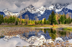 Deeper Reflection, Grand Teton National Park (Northern Straits Photo) Tags: light mountains reflection stormy wyoming np grandteton jacksonhole wy grandtetonnationalpark antelopeflats colorphotoaward jamesneeley billwight mountainhighworkshops northernstraitsphotography