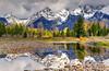 Deeper Reflection, Grand Teton National Park (Northern Straits Photo) Tags: light mountains reflection stormy wyoming np grandteton jacksonhole wy grandtetonnationalpark antelopeflats colorphotoaward jamesneeley billwight mountainhighworkshops northernstraitsphotography