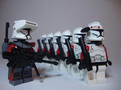 Yankee Company (jestin pern) Tags: fiction trooper sphinx star lego space science company corps mission fi wars squad clone yankee sci legion 457th 707th cularin