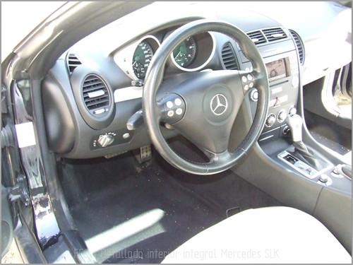 Mercedes SLK detallado interior-03