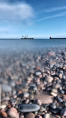 Dredger (P3207055) (Mel Stephens) Tags: uk longexposure sea panorama seascape vertical geotagged coast scotland seaside long exposure dof very panoramic best coastal aberdeen le gps favourite scape stitched hdr breakwater ptgui 2011 cixpix aberdonia