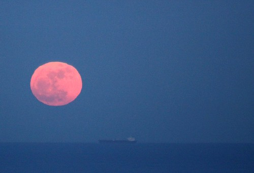 Supermoon rise 19th March 2011