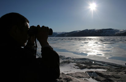 Fieldwork on Greenland I