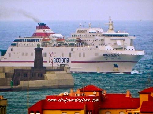 Barco Melilla