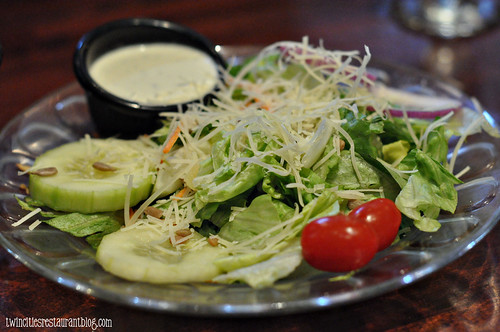 House Salad at Chianti Grill ~ Roseville, MN