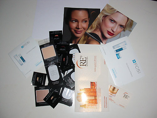 Arbonne Cosmetics Samples