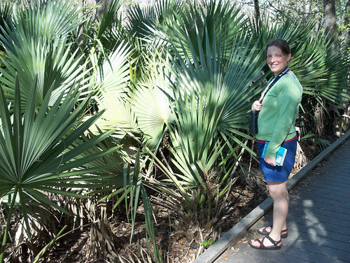 Noelle and palmettos