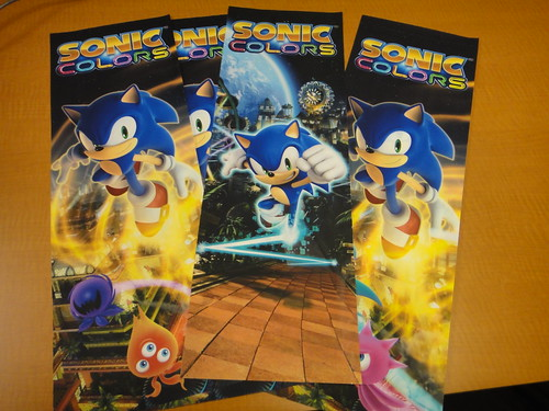 Sonic Colors - Promo Station art