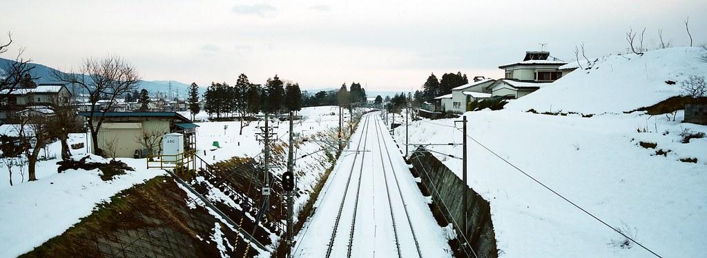 Railway in Hiraizumi