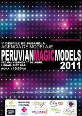1º Desfile de Pasarela - Peruvian Magic Models