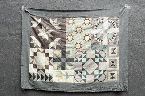 Karyn's Quilt Sampler : Top