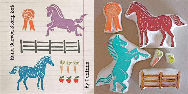 Horsies Stamp Set