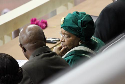 Madame President Ellen Johnson Sirleaf