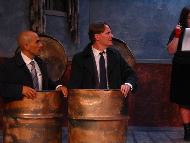 Enter Det. Joe Cojones (Caesar F. Barajas) and Inspector Dexter (Paul Byrne) of the Art Police.