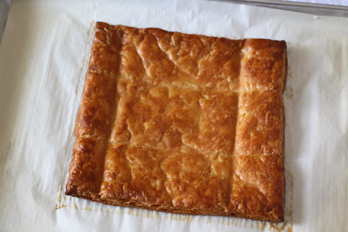 baked puff pastry