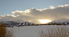 Breckendridge sunset (davidmccrone) Tags: winter sunset usa cloud snow canon landscape eos colorado breckenridge 550d rebelt2i