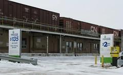 CNE cargo area