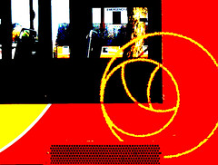 Bus_1 (recordiola) Tags: posterized