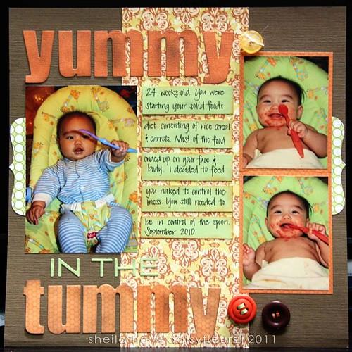 Yummy in the Tummy