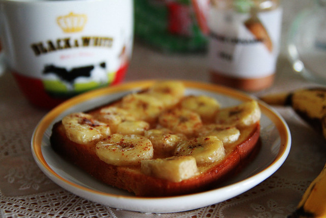 banana cinnamon toast
