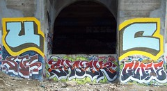 UC static shock guise (Reckless Artist) Tags: urban minnesota graffiti bucket paint awesome graf united famous large cities twin best spray crack tc static roller huge shock stc celebs graff uc mn ultra crushers akb guise graffpro