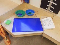 Paint Your Own Earth (Photo from My Montessori Journey)