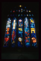 John Piper (Julie Rutherford1) Tags: plymouth stainedglass standrewschurch johnpiper