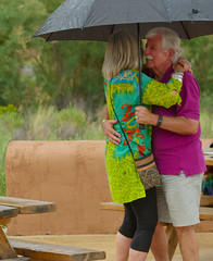 boctr (Symic) Tags: torrey utah andrswilliamolsenrodriguez couple old dance rain umbrella moustache green bright tunic purse shorts love together happy good relationship marrage success dignified cherish