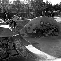 skater park (Staufen39) Tags: skate park ostend frankfurt germany sunset light