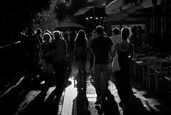 untitled (ChrisRSouthland) Tags: street athens light backlight backlit shadows people bw blackandwhite nikon nikond800 d800 nikkor85mmf18 monastiraki