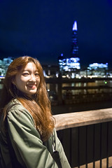 Untitled (Chang Tai Jyun) Tags: london shard shardtower uk europe portrait thames  england  gb riverthames night nightview nightlife