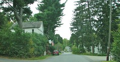 A LOOK DOWN MAIN STREET (richie 59) Tags: ulstercountyny ulstercounty newyorkstate newyork unitedstates autumn trees townofesopusny townofesopus mainstreet richie59 stremyny stremy outside weekday fall 2016 thursday sep2016 sep292016 hamlet