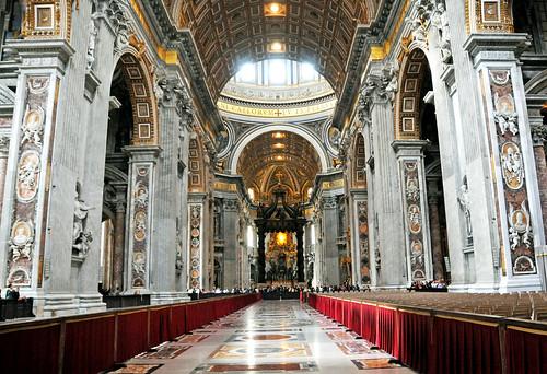 フリー写真素材, 建築・建造物, 教会・聖堂・モスク, サン・ピエトロ大聖堂, バチカン,
