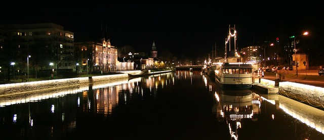 River Aurajoki, Turku, Finland