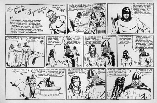 009-El Guerrero del antifaz nº 2 primera edicion-1º pagina