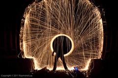 Tunnel Vortex (Mondino1980) Tags: blue light shadow red 3 vortex man flower london wool wheel train fire dance jump wire rust track ghost orb 8 tunnel led raymond lay armed connaught mondino murphyz
