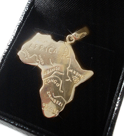 pingente africa ouro edit2c (Paulo Pandolfe Designer) Tags  glamour arte  designer natureza bonito 3abc19bd06