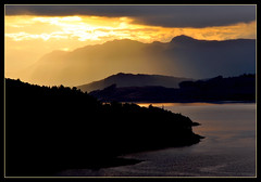 Sunrise, Loch Alsh (BrianG's photos) Tags: sunrise scotland highlands lochalsh kyleoflochalsh scotlandscountryside scotlandslandscapes