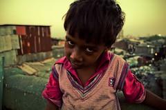 Mumbai Slum Boy (Oana Dragan) Tags: poverty boy india photoshoot indian poor mumbai slum slums
