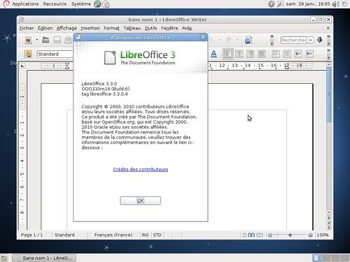 LibreOffice 3.3 et Debian Squeeze