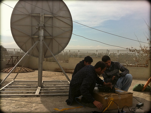 New Satelitte Dish