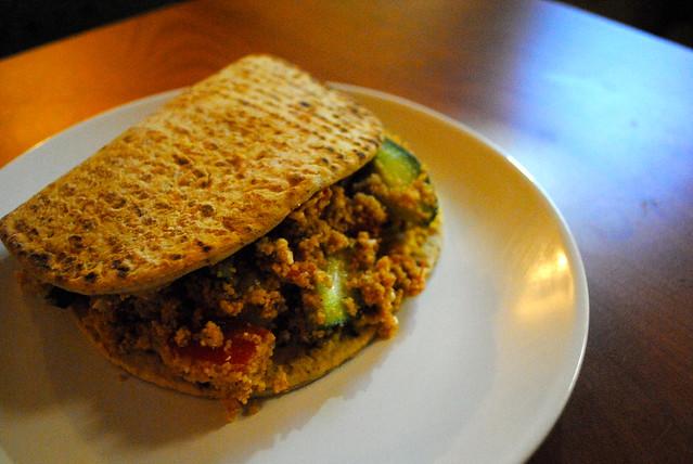 Mediterranean Flatbread Sandwiches I