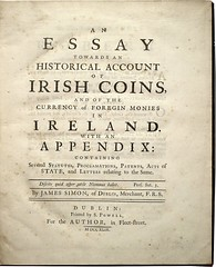 Simon Essay on Irish Coins