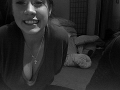 Photo 256 (kipic0892) Tags: blackandwhite photobooth flickrbooth